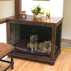 What an awesome way to cozy up an ugly dog pen...