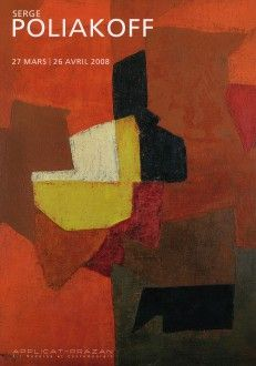 Serge Poliakoff #publication #catalogue #poliakoff  #applicatprazan