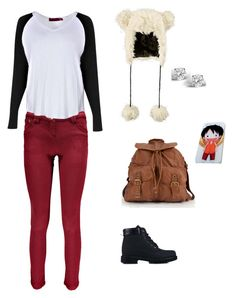 """""""Untitled #4958"""" by northamster ❤ liked on Polyvore featuring Glitzy Rocks, Boohoo, San Diego Hat Co., T-shirt & Jeans and Nly Shoes"""
