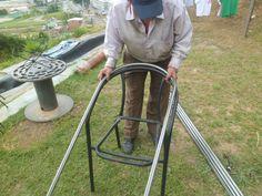 herrajes para silla tipo rattan