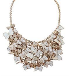 Buyinheart@ Fashion Butterfly Bubble Bib Statement Necklace , Chunky Necklace, Evening Party Jewelry buyinheart---- Necklace http://www.amazon.com/dp/B00VHHHF4O/ref=cm_sw_r_pi_dp_r-vfwb0SJ6W4W