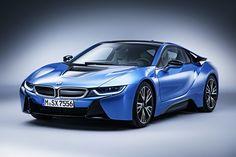 İ8 2015 BMW i8 GT Spirit. Protonic Blue