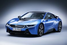 İ8 2015 BMW i8 GT Spirit. Protonic Blue
