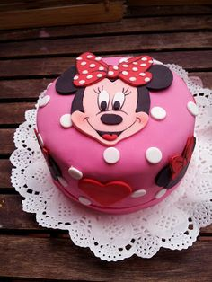 Minnie Mouse cake. Natali's cooking