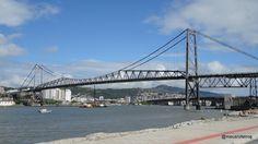 Ponte Hercílio Luz - Florianópolis States Of Brazil, Bridge, Santa Catarina, Seaside, How To Take Photos, Places, Cities, Brazil, Bridge Pattern