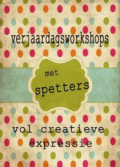 Spetters Workshops - Agenda