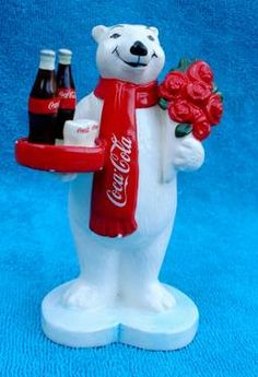 Coca-Cola Bear Figurine Coca Cola Cake, Coca Cola Polar Bear, Pepsi, Coca Cola Christmas, Christmas Cards, Pop Drink, Cocoa Cola, Always Coca Cola, World Of Coca Cola