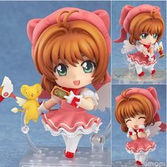This cute and adorable Cardcaptor Sakura Figure comes with multiple components and a variety of awesome poses! Perfect as a collectible for Cardcaptor Sakura fans! Dimensions: 10 cm Material: PVC Them