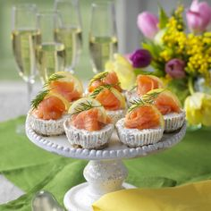 Easter Recipes, Easter Food, Mini Cheesecakes, Mini Cupcakes, Food Inspiration, Tapas, Food Porn, Food And Drink, Appetizers