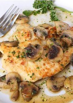 Chicken'n'mushroom Vištiena su grybais