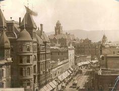 Downtown LA circa 1890. https://www.pinterest.com/lovestrex/la-history/