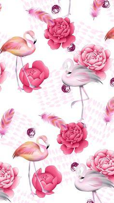 17 ideas for wallpaper pink flamingo patterns Frühling Wallpaper, Flamingo Wallpaper, Flamingo Art, Flamingo Pattern, Tumblr Wallpaper, Pink Flamingos, Pattern Wallpaper, Wallpaper Backgrounds, Wallpaper Ideas