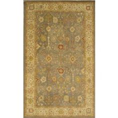 Amazon.com: Safavieh Antiquities Collection AT314A Handmade Slate Blue and Ivory Hand-spun Wool Square Area Rug, 4x6 $105 - free shipping, sheds - check price against overstock