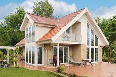 Details | Häuser-Galerie | Referenzen | Fertighaus und Energiesparhaus | Danhaus - Das 1 Liter Haus
