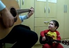 This 2-Year-Old Boy Singing A Beatles Song With His Father Is Too Cute For Words.