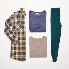 Alternative Flannel Shirt Dress
