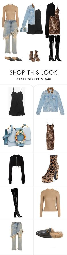 """Where'd You Go"" by deadinsidebutstillchillin ❤ liked on Polyvore featuring Gucci, Miu Miu, Nili Lotan, Unravel, Yves Saint Laurent, Laurence Dacade, Topshop, R13, Frasier Sterling and saintlaurent"