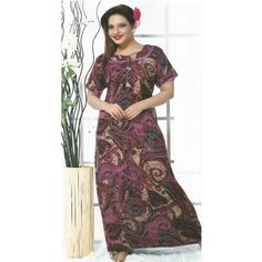 Check out our New Product  Ana Pure Cotton Printed Magenta Night Wear COD Ana Pure Cotton Printed Magenta,cream,black and grey mixed pattern Night Wear NWPN2379SIZE : XXL  ₹999