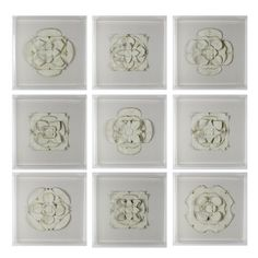 "Tommy Mitchell - Antique White 24"" Medallions.jpg"