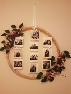 Engagement souvenir corner # engagement - Home Decoration Ideas Diy Room Decor, Wall Decor, Home Decor, Fun Crafts, Diy And Crafts, Handmade Crafts, Photo Wall Hanging, Diy Birthday, Diy Gifts