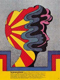 Fading Reality Illustration by Milton Glaser Image scanned by Sweet Jane. Milton Glaser, Graphic Design Illustration, Art And Illustration, Graphic Art, Vintage Graphic, Vintage Ads, Psychedelic Art, Logos Retro, Plakat Design