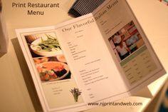 Njprintandweb.com - offers Online Restaurant Menu Printing services in New York. Design your menu card online  http://www.njprintandweb.com/product/print-restaurant-menu/
