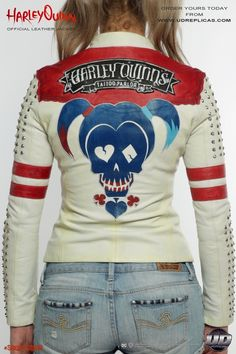 Edgy Outfits, Cute Casual Outfits, Rock Outfits, Couple Outfits, Harley Quinn Drawing, Joker And Harley Quinn, Jacket Images, Pop Punk Fashion, Lolita Fashion