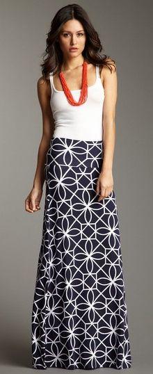 Toulouse Maxi Skirt  @scrapwedo