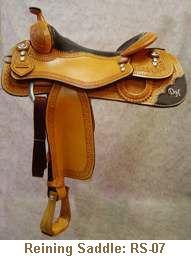 Jerry Shaw Reining Saddle: RS-07