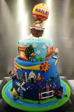 Its A Small World Cake By Little Miss OCs Kitchen