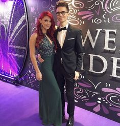 Poppy Deyes, Sugg Life, Zoe Sugg, Strictly Come Dancing, Dancing With The Stars, Celebs, Celebrities, Red Fashion, Celebrity Couples