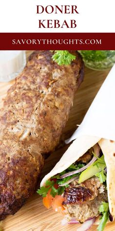 This much loved late night Turkish Beef Doner Kebab Recipe is perfect for a late night meal. One of the ultimate comfort foods but yet so versatile.