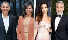 Barack and Michelle Obama enjoyed a boat ride on Lake Como with George and Amal Cloon. Michael Kovac/Getty Images for AFI Marc Maron, Rumer Willis, Barack And Michelle, Ashton Kutcher, Demi Moore, Studio City, Lake Como, Celebs, Celebrities