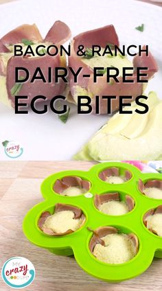 These dairy free egg bites are delicious and easy to make taste like the sous vide version in your Instant Pot or oven. They're also gluten free egg bites! Snacks For Work, Healthy Work Snacks, Healthy Appetizers, Dairy Free Starbucks, Low Carb Starbucks, Dairy Free Recipes Easy, Gluten Free, Starbucks Egg Bites, Egg Bites Recipe