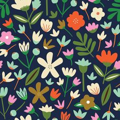 60s Patterns, Flower Patterns, Print Patterns, Pattern Print, Apple Watch Wallpaper, Wall Decor Design, Graphic Design Branding, Pattern Illustration, Floral Illustrations