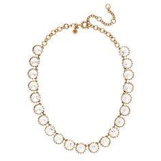 Crystal Venus flytrap necklace - necklaces - Women's jewelry - J.Crew