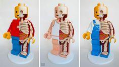 Jason Freeny's Giant Dissected Lego Men