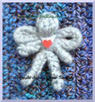 Knitting spool - angel