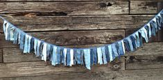 Denim Birthday Party Banner