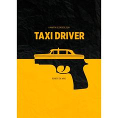 """""""Taxi Driver"""" (1976) alternatif film afişi."""