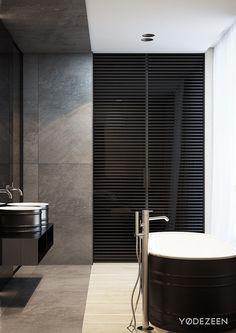 Bathroom - Family estate in Poland by YO Dezeen