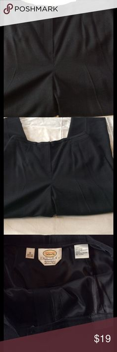 Talbots's Black Wool lined pants Wool and spandex blend black lined trousers. Size 12 . Dry clean. Stretch fabric comfort. EUC Talbots Pants Straight Leg