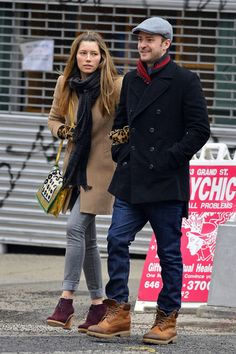 Justin Timberlake and Jessica Biel in NYC