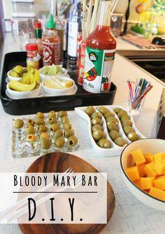 Bloody Mary Bar DIY