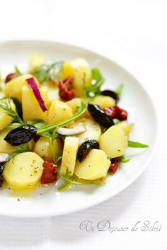 Salade de pommes de terre aux saveurs de Mediterranee