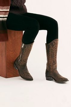 08aa585476ad Freepeople Nile River Western Boot -  548  theradicalblog  falloutfits   freepeople Free People Boots