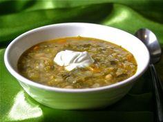Polish White Bean Soup Recipe (Zupa Fasalowa)