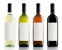 ¿Por qué las botellas de vino son de colores?