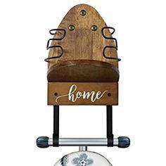 Spectrum 66400 Wall Mount Ironing Board Holder, White : Amazon.co.uk: Home & Kitchen Ironing Board Hanger, Ironing Board Storage, Utility Room Inspiration, Small Utility Room, Magnolia Fixer Upper, Iron Holder, Iron Board, Wall Hanger