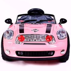 Ride On Car Kids Electric Powered Wheels MP3 Remote Control RC Pink 2 Motors